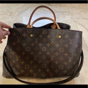 Louis Vuitton Montaigne GM bag